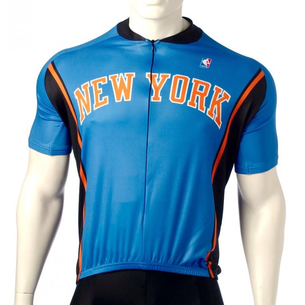 37e8cd588 NBA New York Knicks Cycling Jerseys Bib Shorts Arm Warmers