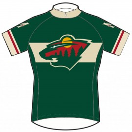 size 40 f1403 a7dd4 minnesota wild cycling jersey
