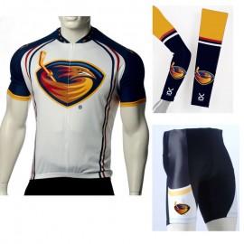df02f1c57 NHL Atlanta Thrashers Cycling Jerseys Bib Shorts Arm Warmers