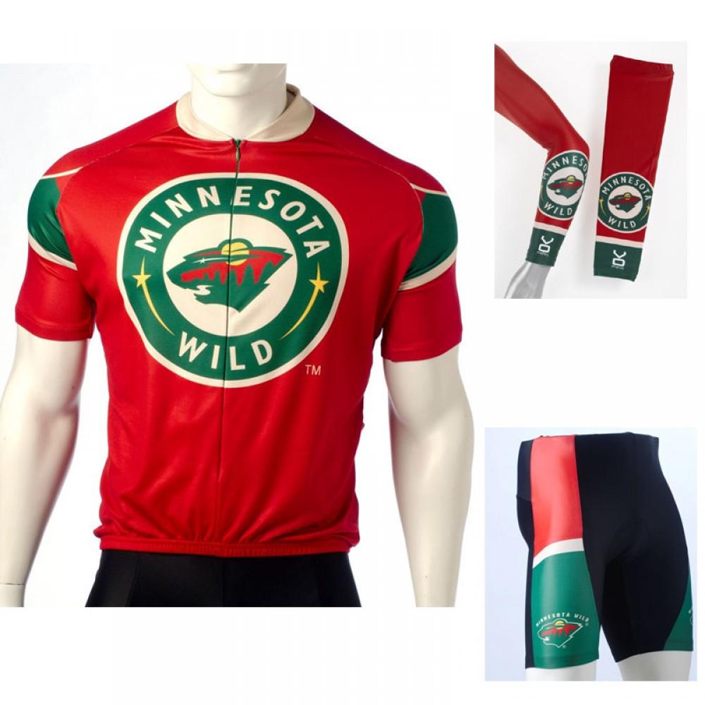quality design 4a0c9 4481d Minnesota Wild Cycling Jerseys